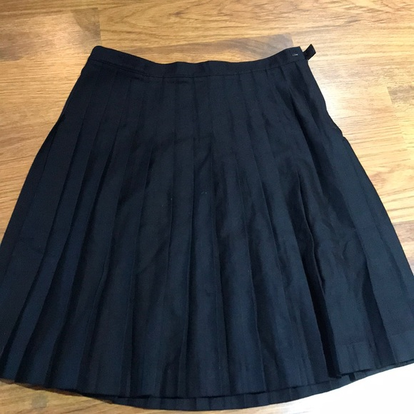 Lands' End Other - Girls black pleated skirt 14 years